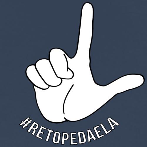 Dedo Big - #RetoPedaEla - Camiseta premium hombre