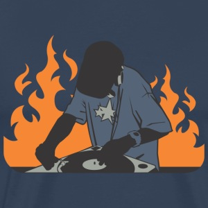 DJ fire - Men's Premium T-Shirt