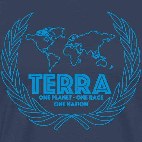 Terra - Männer Premium T-Shirt