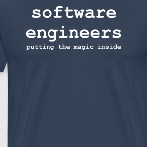 software_engineers - Mannen Premium T-shirt