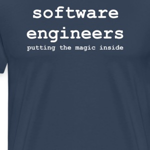 software_engineers - Premium-T-shirt herr