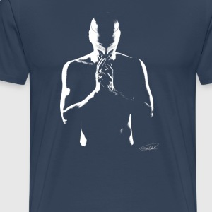 13-_ blind_warrior - Men's Premium T-Shirt