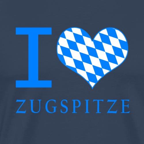 I Love Zugspitze - Männer Premium T-Shirt