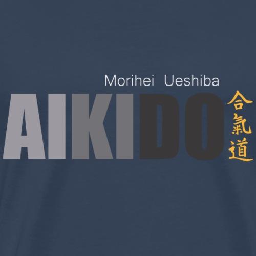 AIKIDO ARTES MARCIALES - Camiseta premium hombre