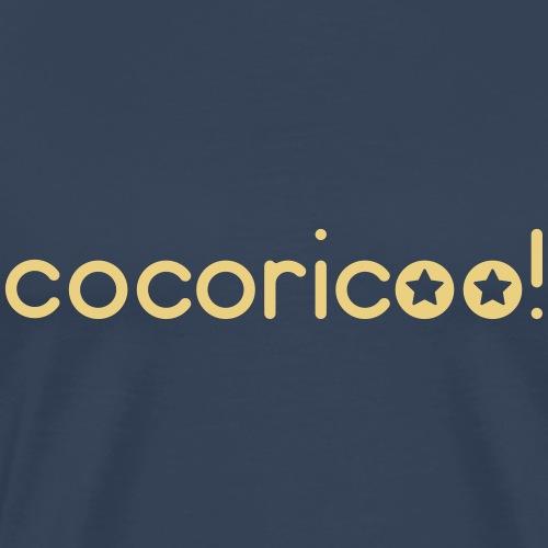 Cocorico deux étoiles - Personnalisable - T-shirt Premium Homme
