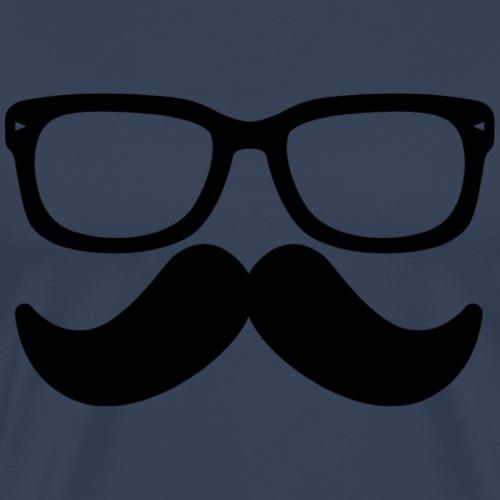 moustache - Men's Premium T-Shirt