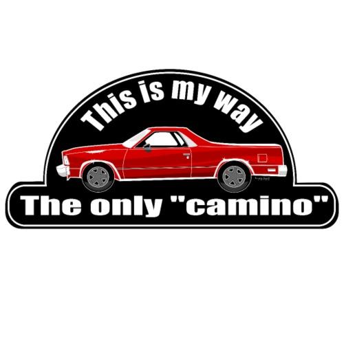 Mi camino - Camiseta premium hombre