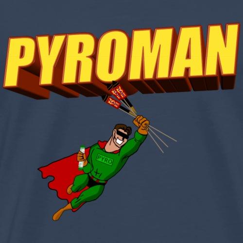 Pyro Feuerwerk - Männer Premium T-Shirt