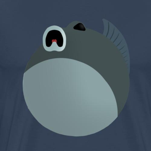 Spooked fish - Men's Premium T-Shirt