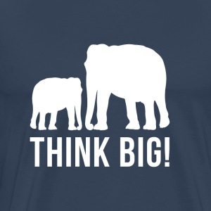 Think BIG - Männer Premium T-Shirt