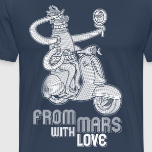 From mars with love - Men's Premium T-Shirt