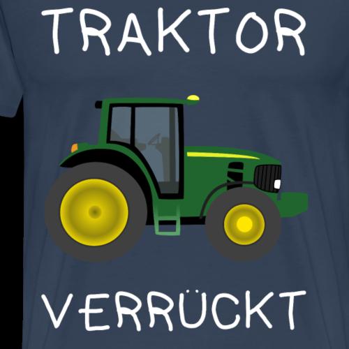 Traktor Verrückt - Männer Premium T-Shirt