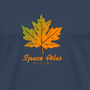 Space Atlas Long Sleeve T-shirt Autumn - Men's Premium T-Shirt