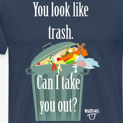 TrashPickUpLine - Männer Premium T-Shirt