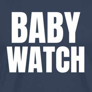 Baby surveillance / pregnancy / paternity - Men's Premium T-Shirt