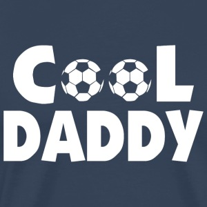 Cool Soccer Football Daddy - Premium T-skjorte for menn