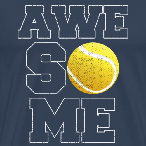 Awesome Tennis - Männer Premium T-Shirt