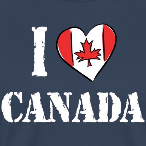 I Love Canada - Men's Premium T-Shirt