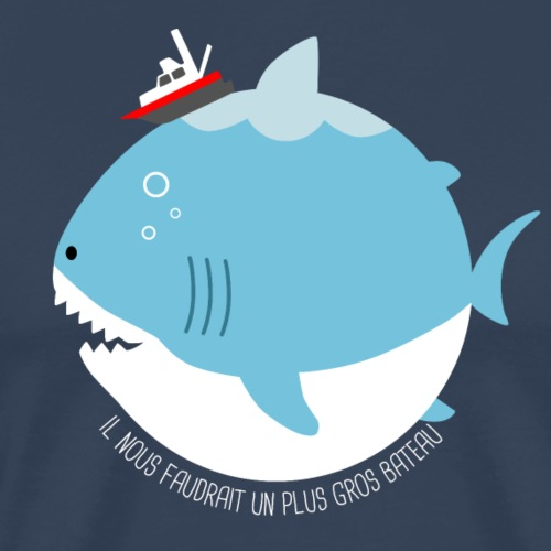JAWS - T-shirt Premium Homme