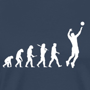 Evolution Volleyball Man - Mannen Premium T-shirt