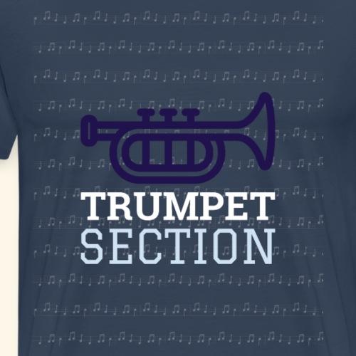 Trompeten Shirt Orchester Tees Musikshirt - Männer Premium T-Shirt