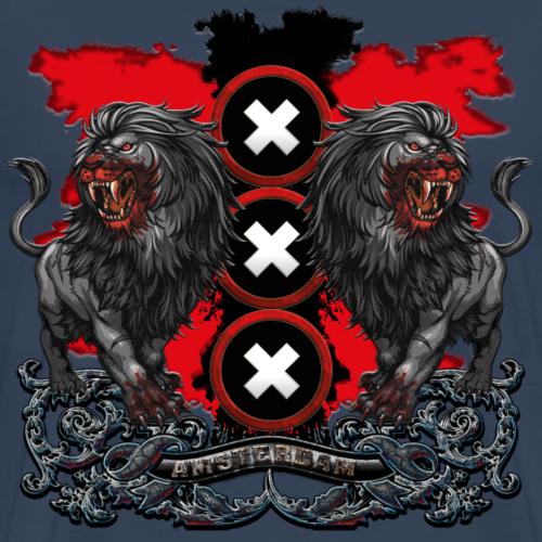 Amsterdams wapen 2018 - Mannen Premium T-shirt