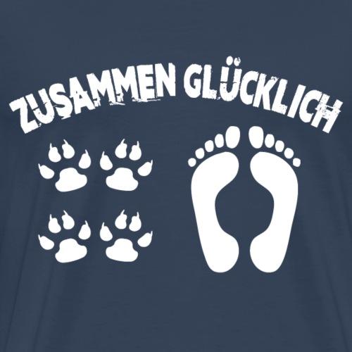 ZUSAMMEN GLÜCKLICH - Männer Premium T-Shirt