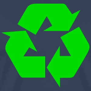 Earth Day Recycle - Männer Premium T-Shirt