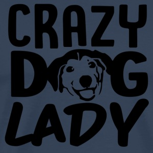 ++ Carzy Dog Lady ++ - T-shirt Premium Homme
