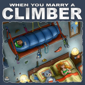 When You Marry A Climber - Mannen Premium T-shirt
