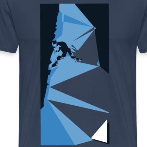 triangulation klettern - Männer Premium T-Shirt