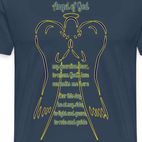 Angel of God - Maglietta Premium da uomo