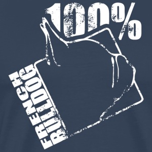 FRENCH BULLDOG 100 - Männer Premium T-Shirt