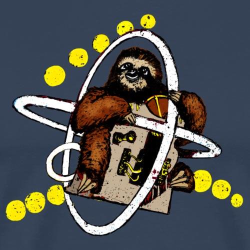 Faultier im Weltall - Männer Premium T-Shirt