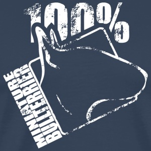 MINIATURE BULL 100 - Men's Premium T-Shirt