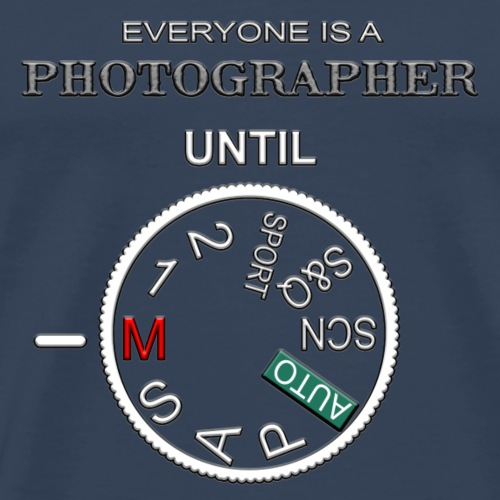Photographer - Männer Premium T-Shirt