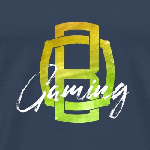 OB Gaming / Weißer Schriftzug - Männer Premium T-Shirt