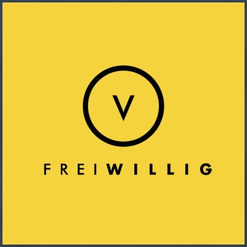 Frei-Willig Logo mit V - Männer Premium T-Shirt