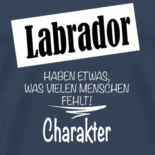 Labrador - Männer Premium T-Shirt