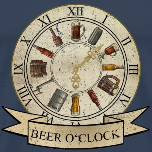 Beer O'Clock (Zeit für Bier) - Männer Premium T-Shirt