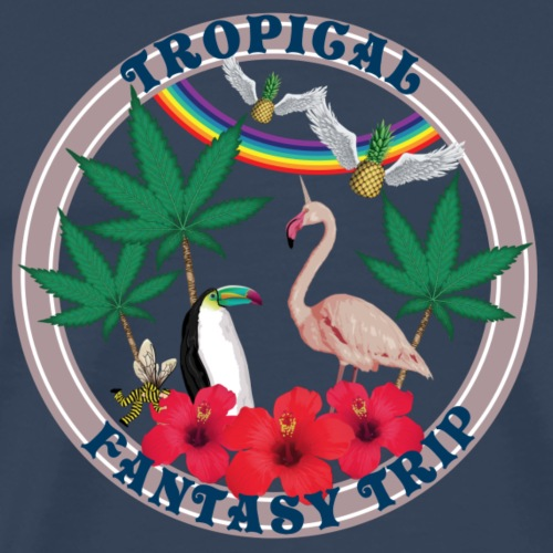 Tropical Fantasy Trip - T-shirt Premium Homme