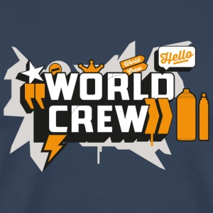 Graffiti-World-Crew - Men's Premium T-Shirt
