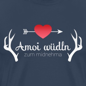 Amoi waddle to the midnehma - Men's Premium T-Shirt