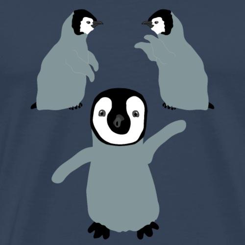 Emperor Pinguin Babys - Männer Premium T-Shirt