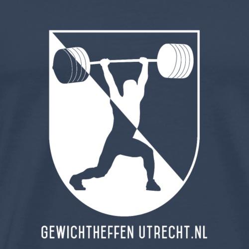 Gewichtheffen Utrecht Logo Trui - Mannen Premium T-shirt