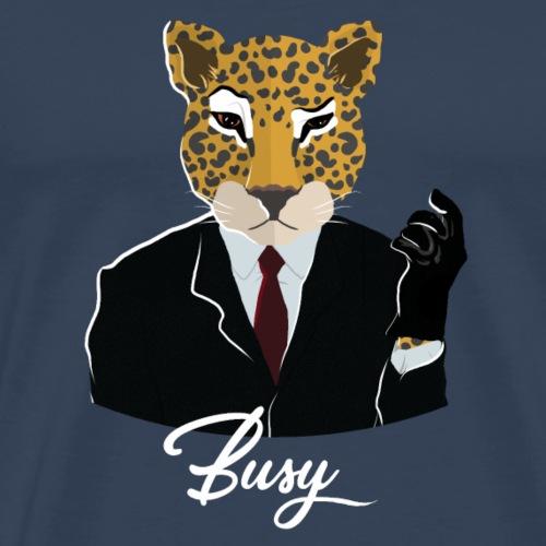 Busy félin - T-shirt Premium Homme