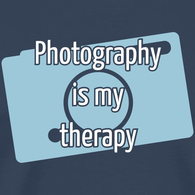 Photography is my therapy