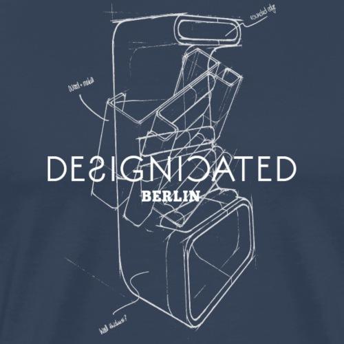 Designicated Berlin weiß - Männer Premium T-Shirt