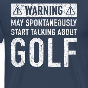 Original Golf Gift: Here To Order - Men's Premium T-Shirt