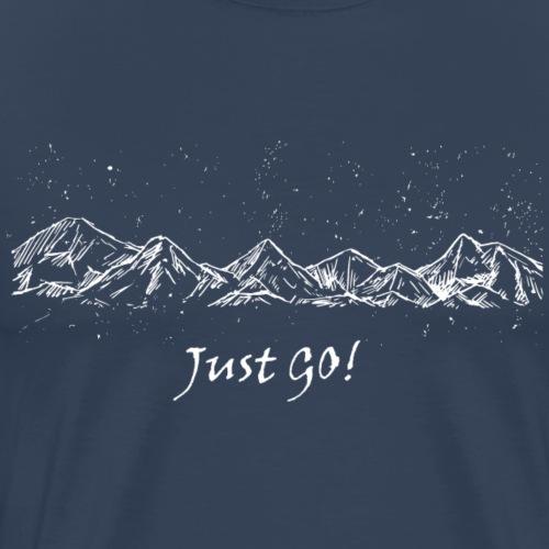 justgo - Men's Premium T-Shirt